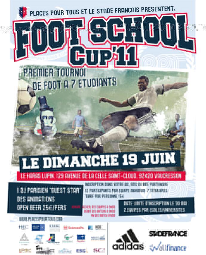 Places Pour Tous présente la Foot School Cup'11