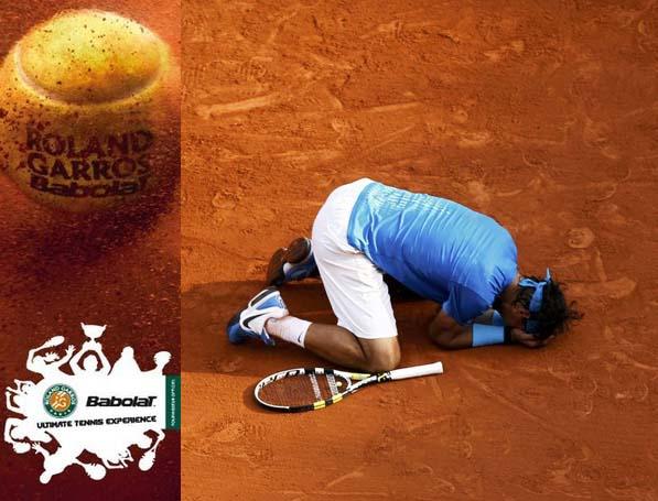 Babolat le prince de Roland-Garros