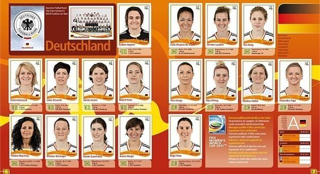 Le foot féminin en promo pour la Coupe du monde 2011