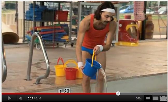 EDF prépare les JO 2012 avec un personnage étrange…