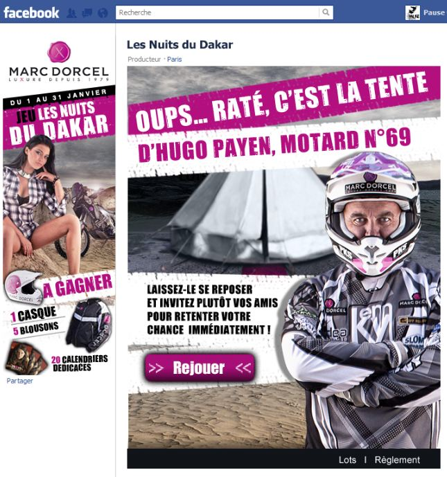 Marc Dorcel lance son jeu «les nuits du Dakar»