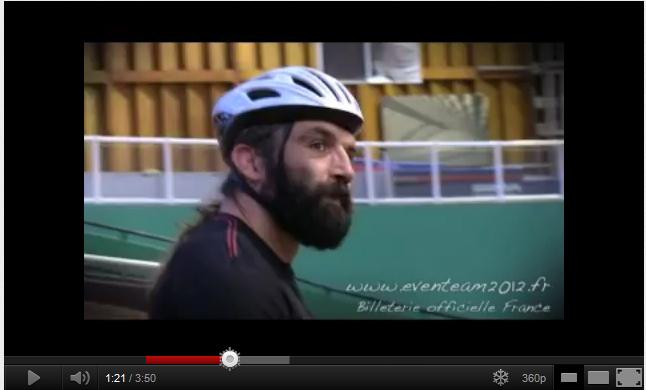 Sébastien Chabal se prépare pour les Jeux Olympiques de Londres 2012