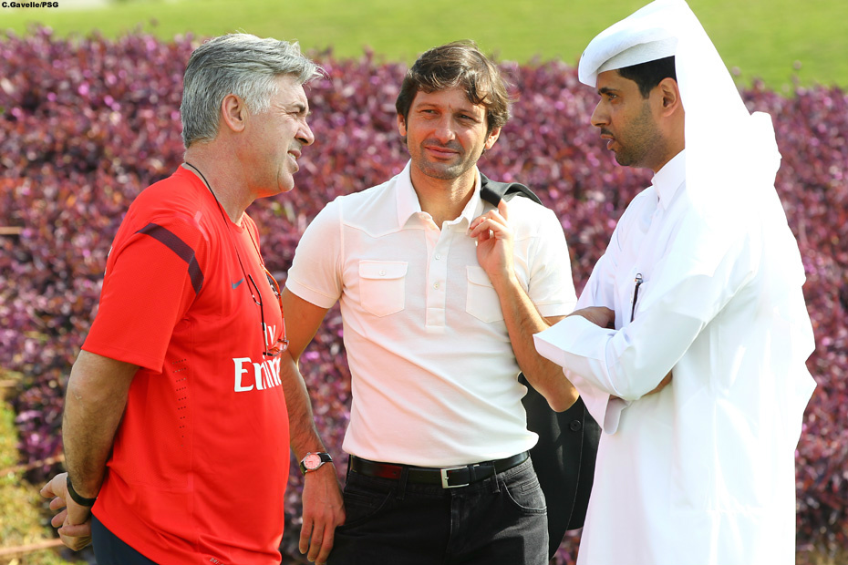 (Twitpic) La journée du PSG au Qatar en twitpics