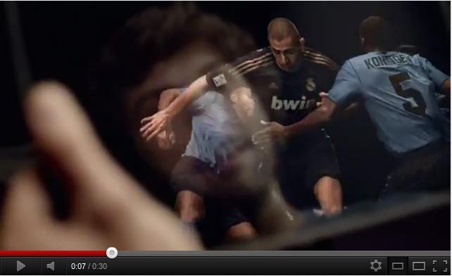 La nouvelle pub TV de Bwin avec le Réal de Madrid