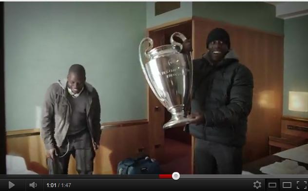Heineken piège des fans de foot avec le Trophée de la Ligue des Champions