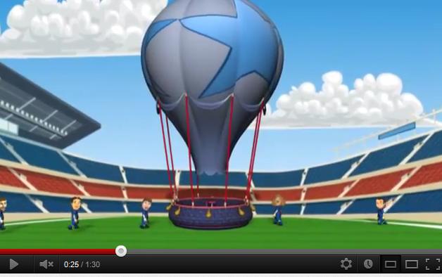 Milan AC-FC Barcelone : Un déplacement en montgolfière pour les Toons du Barça