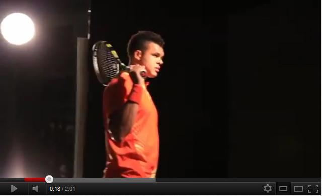 Les joueurs de tennis font les «beaux» pour l'ATP