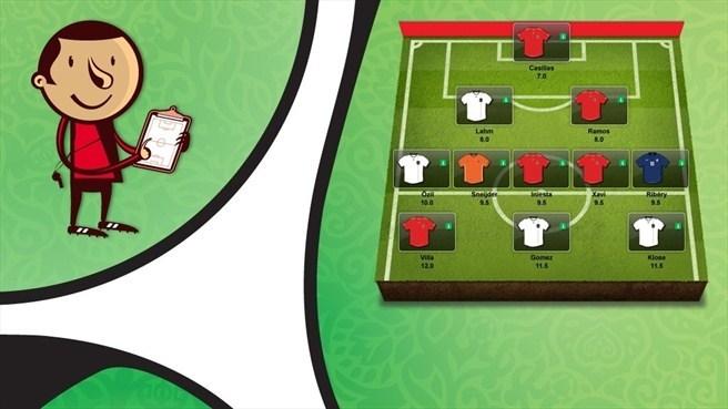 L'UEFA et McDonald's lancent le jeu Fantasy Football pour l'Euro 2012