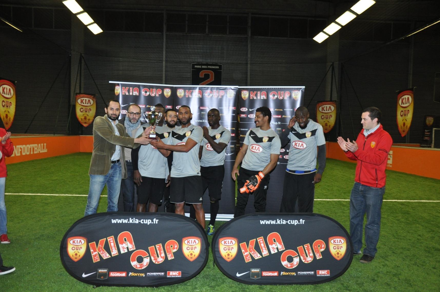 KIA CUP 2012 : L'équipe «Galactik», vainqueur à Paris