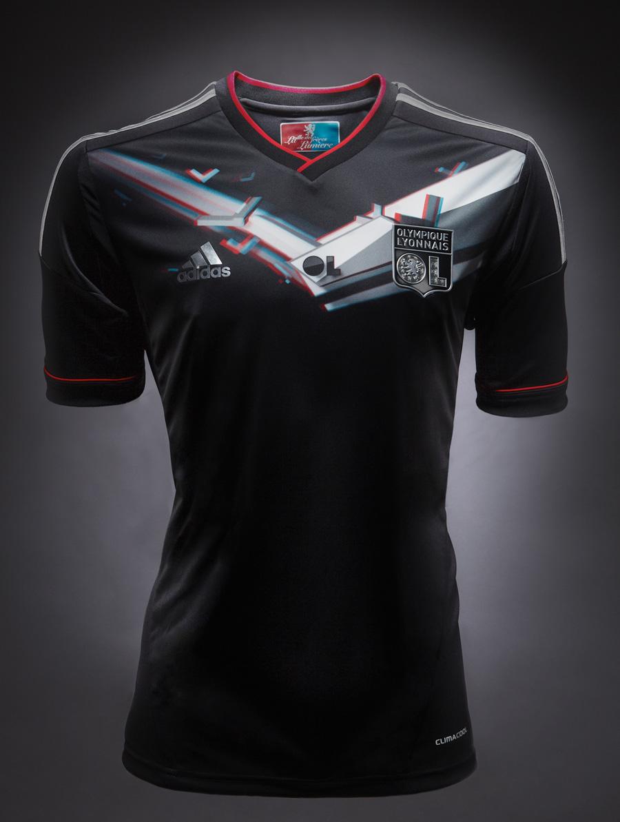 Adidas et l'OL présentent le 1er maillot 3D au monde #OL3D (sponsoring ...