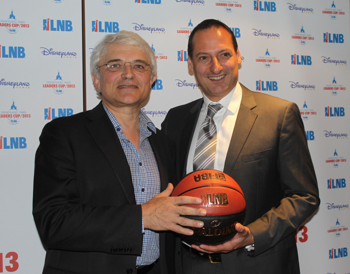 La LNB et Disneyland Paris lancent la  Disneyland Paris Leaders Cup LNB