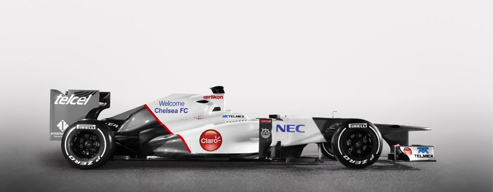 Chelsea FC et Sauber F1 Team s'associent autour d'un partenariat innovant