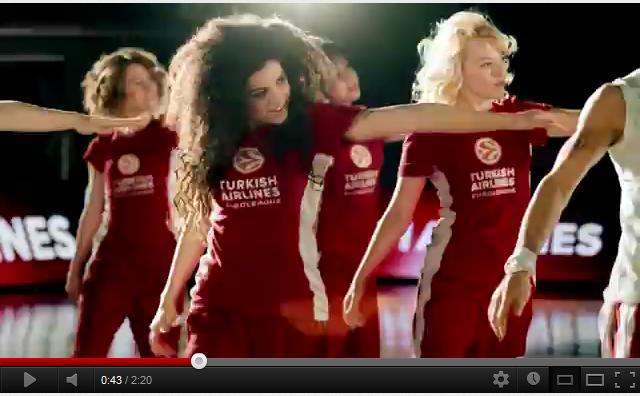 Euroleague Final Four : Turkish Airlines parodie un clip de Madonna