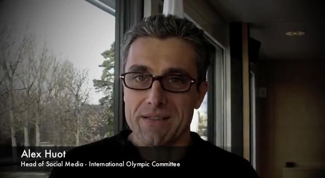 Londres 2012 : Entretien avec Alex Huot, Responsable des réseaux sociaux du CIO