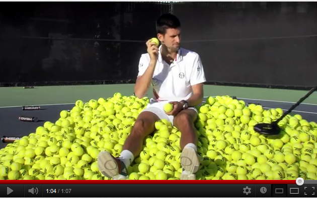 Djokovic et Sharapova partent à la recherche de la «balle en Or»