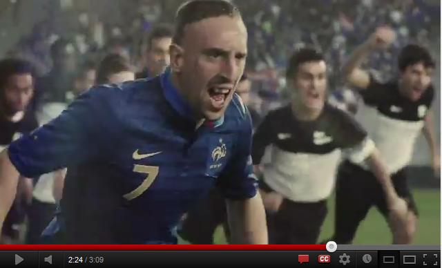 Nike dévoile sa publicité pour l'Euro 2012 «My Time is now»