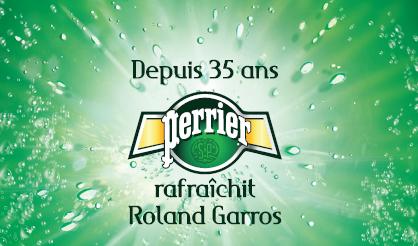 Perrier et Roland Garros célèbrent 35 ans de partenariat