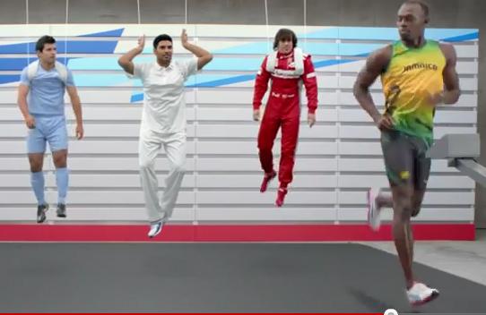 Puma fait courir Usain Bolt, Fernando Alonso, Sergio Agüero, Rickie Fowler et Yuvraj Singh
