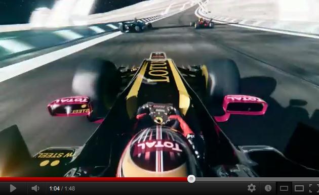 F1 : Total envoie piloter Romain Grosjean sur la Lune !