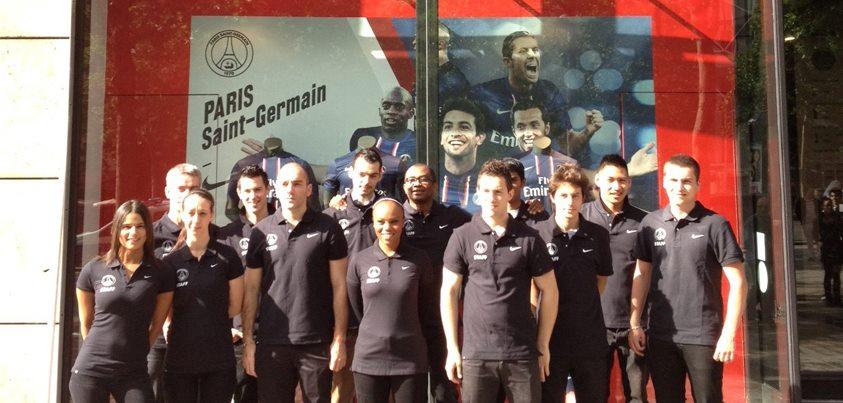 La boutique du PSG fait peau neuve sur les Champs Elysées