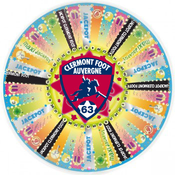 le clermont foot auvergne lance son jackpot fa on roue de la fortune. Black Bedroom Furniture Sets. Home Design Ideas