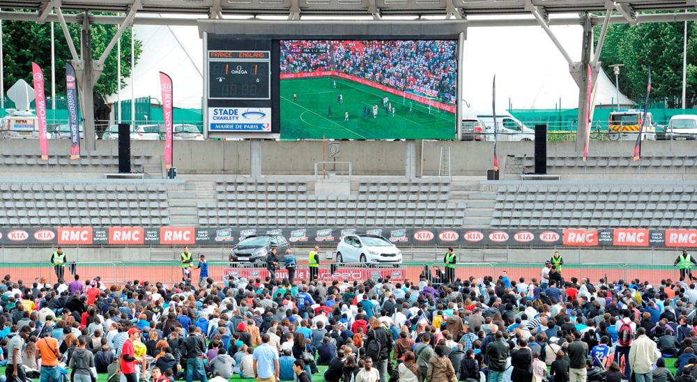 Le «KIA Football Tour RMC» fait vibrer le stade Charléty !