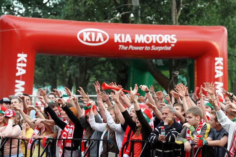 EURO 2012 : KIA lance le « KIA Football Tour RMC »