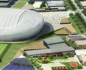 Le Grand Stade de Rugby à Ris-Orangis !