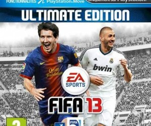 Lionel Messi et Karim Benzema têtes d'affiche de la jaquette française de FIFA 13
