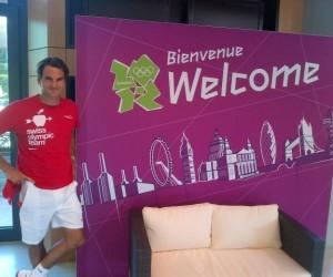 Twitpic : Federer et Sharapova sont arrivés à Londres