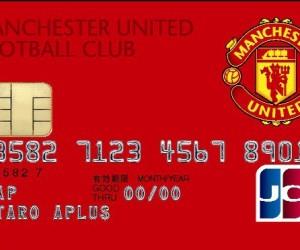 Des cartes de crédit à l'effigie de Manchester United au Japon