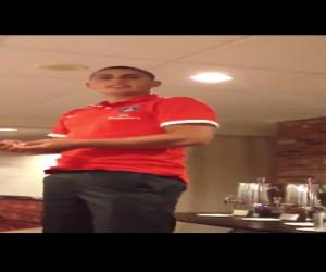 Twitvid : PSG – Verratti bizuté à New York, Pastore publie la vidéo sur son compte twitter