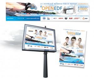 Open EDF de Natation : Illustrasport replonge
