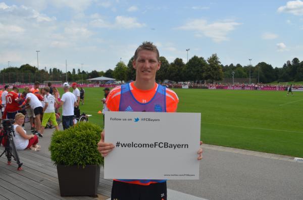 Twitpic : le Bayern Munich débarque sur Twitter