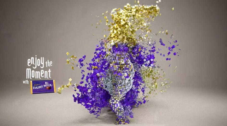 London 2012 : le spot TV artistique de Cadbury
