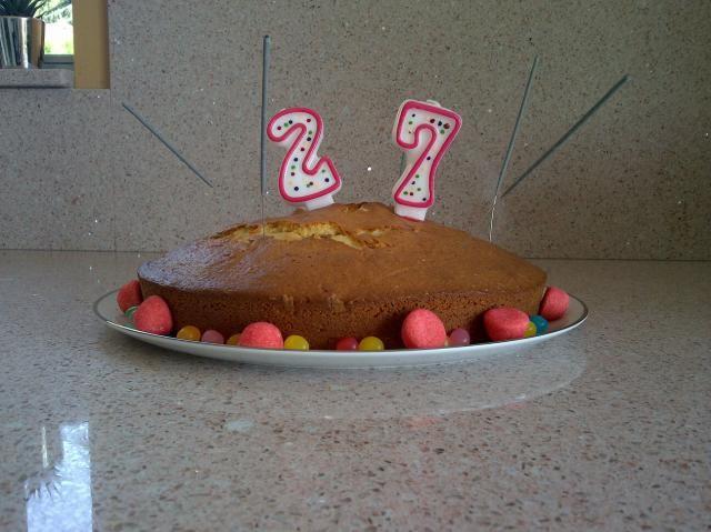 Twitpic : Jimmy Briand fête ses 27 ans en famille