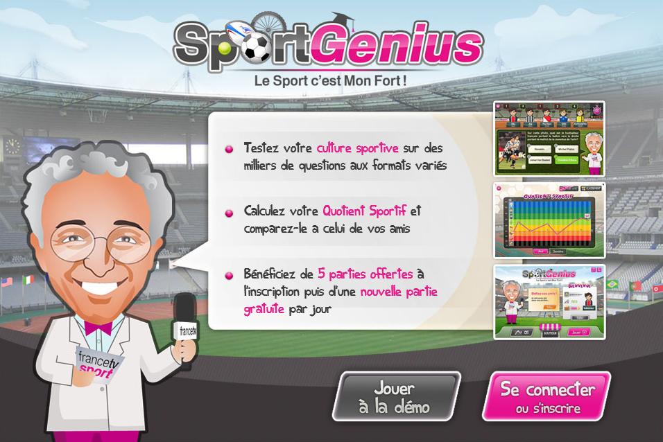 Testez vos connaissances sportives avec Nelson Monfort et Sport Genius : «Le Sport c'est Mon Fort !»