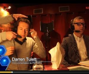 Darren Tulett et Grégoire Margotton commentateurs de PES 2013