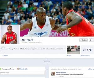 Ali Traoré lance sa Page facebook