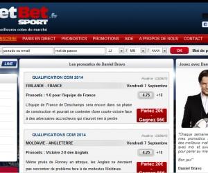 Découvrez les paris sportifs avec Daniel Bravo et Netbetsport.fr (110€ de bonus)