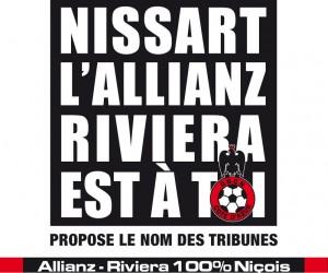Nouveau stade Allianz Riviera : L'Opération «Nomme ta tribune» implique les Niçois