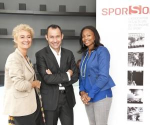 Laura Flessel co-présidente des 9èmes Trophées Sporsora du Marketing Sportif
