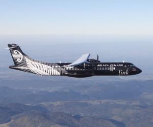 Un avion aux couleurs des All Blacks