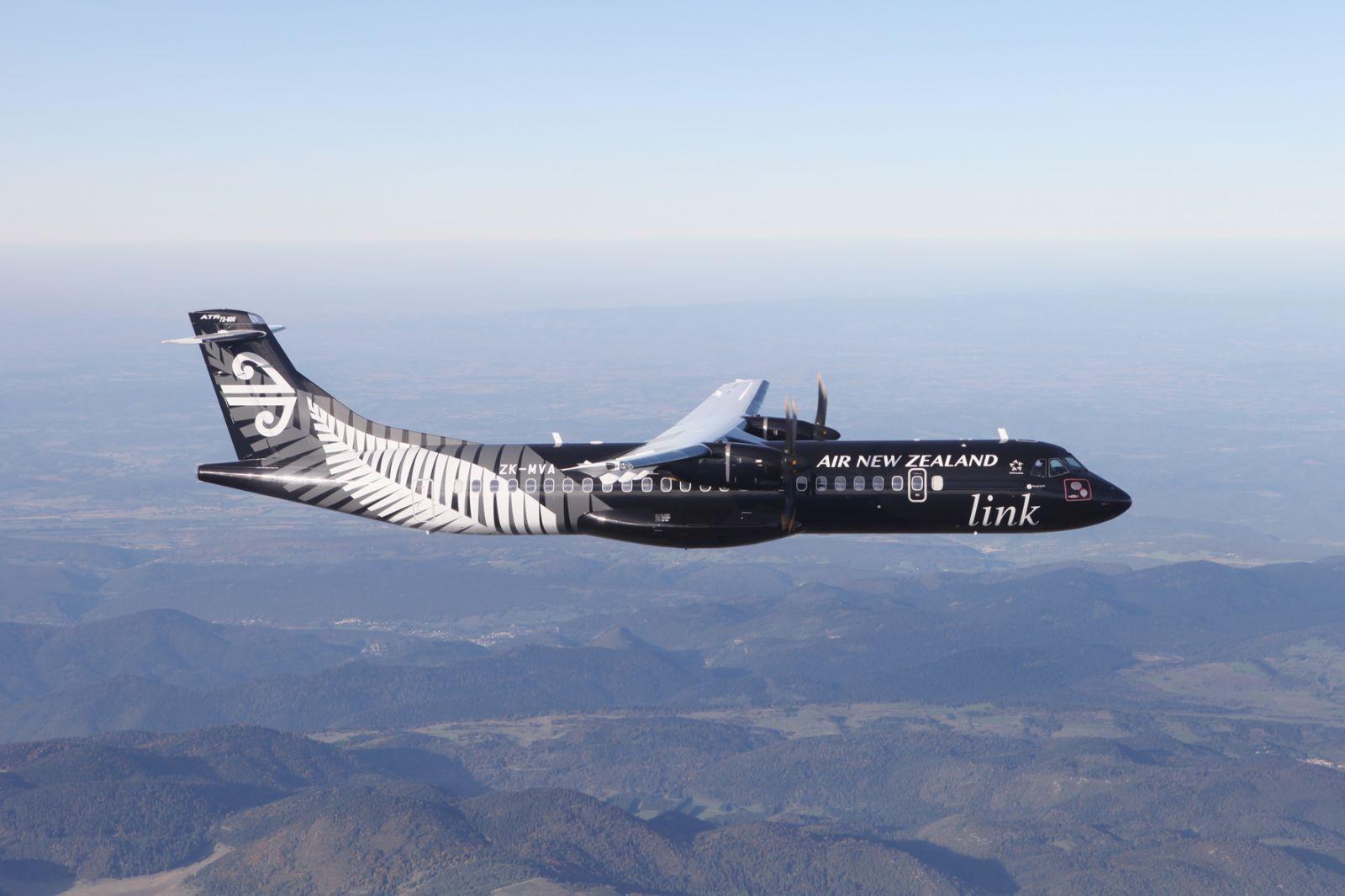 Un Avion Aux Couleurs Des All Blacks Sportbuzzbusiness Fr