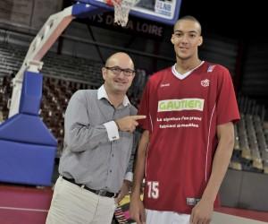 Sponsoring – Gautier mise sur Rudy Gobert et devient Partenaire Majeur de Cholet Basket