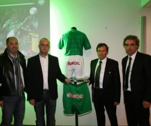 L'AS Saint-Etienne recrute un nouveau sponsor sur les fesses de ses joueurs