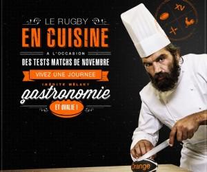 Apprenez à cuisiner avec Sébastien Chabal !