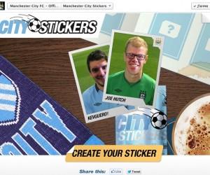 Manchester City Stickers : l'appli façon Panini