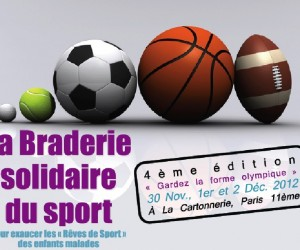 La Braderie Solidaire du Sport : Faites de bonnes affaires en étant solidaires