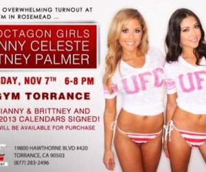 Brittney Palmer VS Arianny Celeste : La guerre des calendriers Sexy 2013 (UFC Octagon Girls)